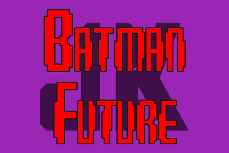 Batman Future Font