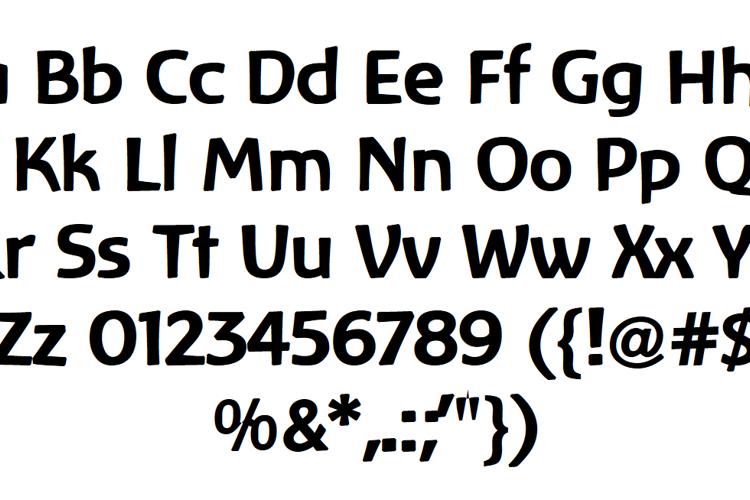 Baar Zeitgeist Font