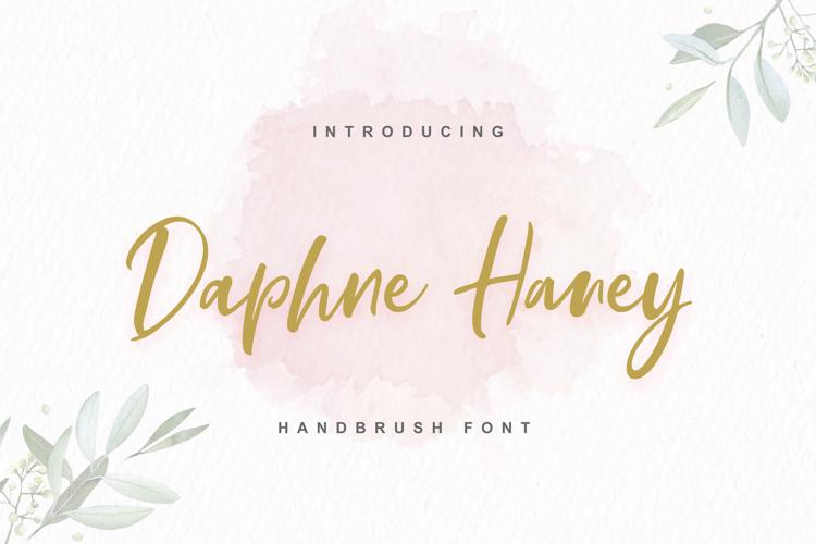 Daphne Haney Font