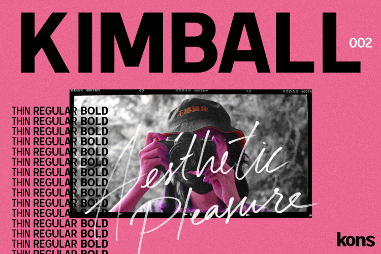 Kimball Bold Font
