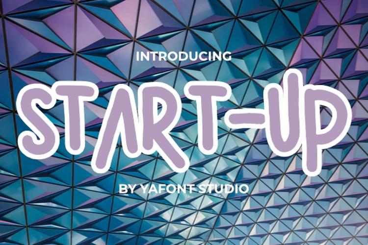 START - UP Font
