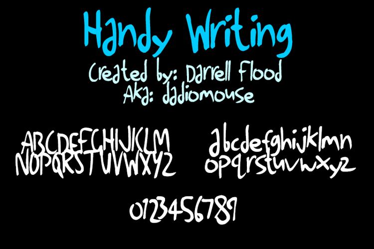 Handy Writing Font