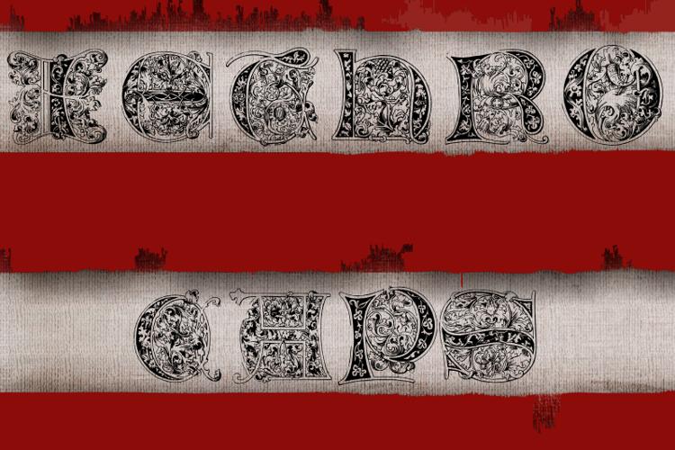 JethroCaps Font
