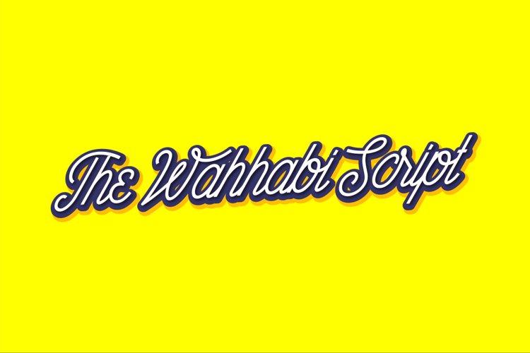 The Wahhabi Script Font