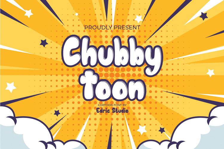Chubby Toon Font