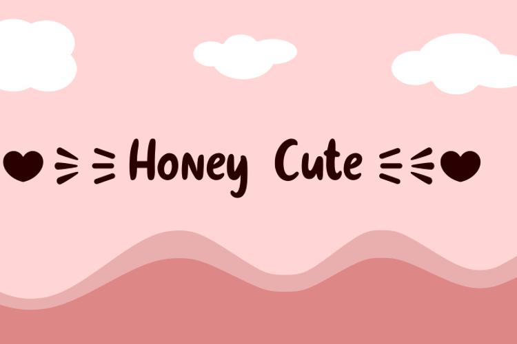 Honey Cute Font