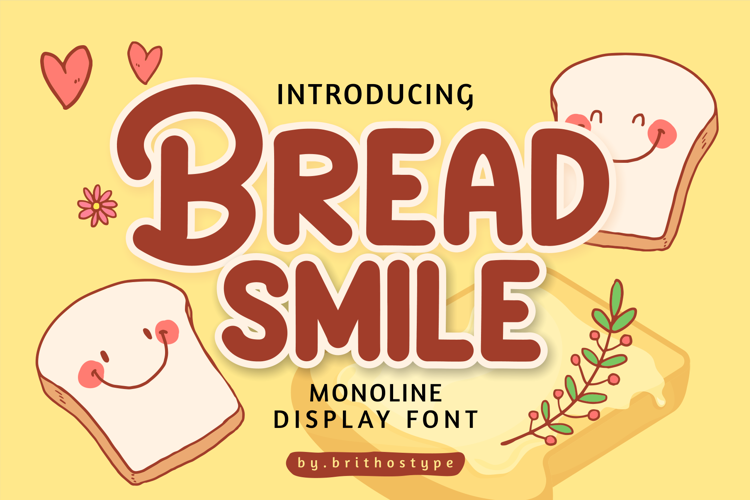 Bread Smile Font