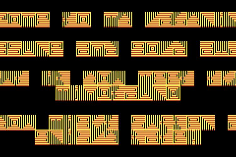 Absinthelyric Print Font