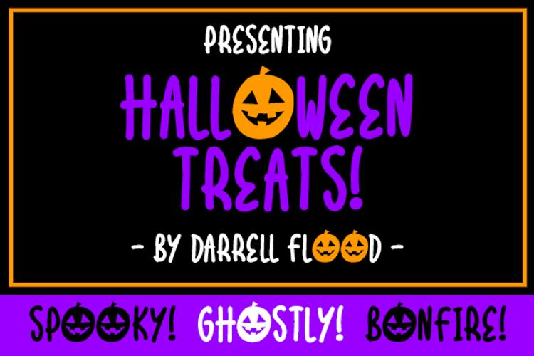 Halloween Treats Font
