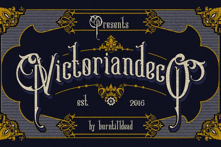 Victoriandeco Font