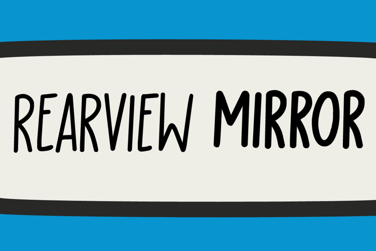 Rearview Mirror DEMO Font