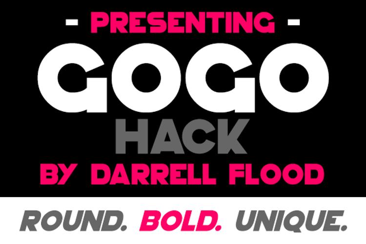 GoGo Hack Font