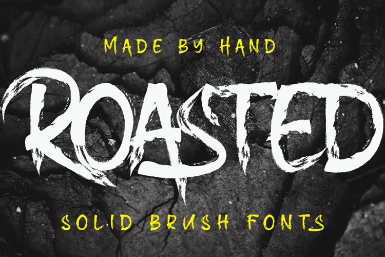 Roasted Font