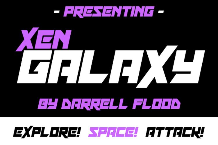 Xen Galaxy Font