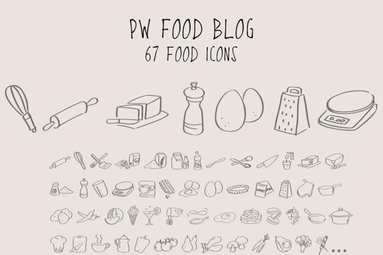 PWFoodblog Font