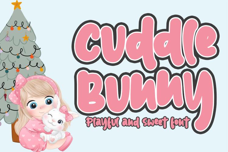Cuddle Bunny Font