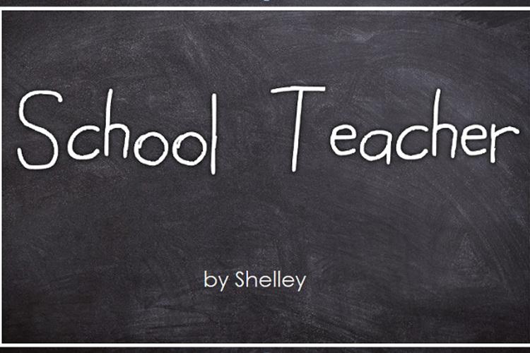 School Teacher Font