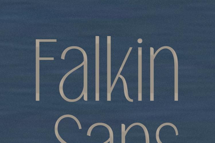 Falkin Sans Font
