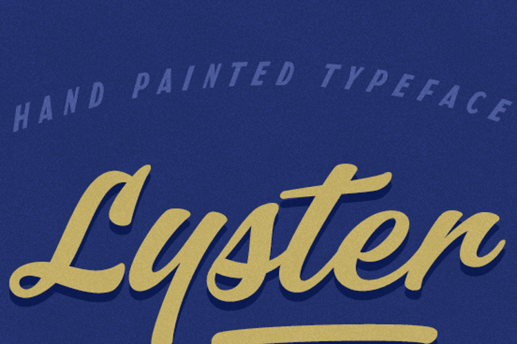 Lyster Font