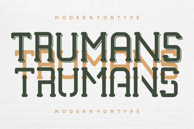 TRUMANS Font
