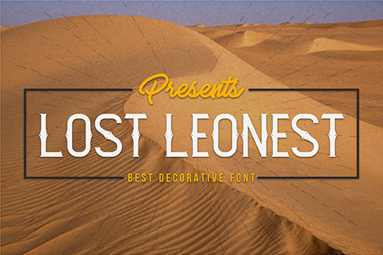 Lost Leonest Font