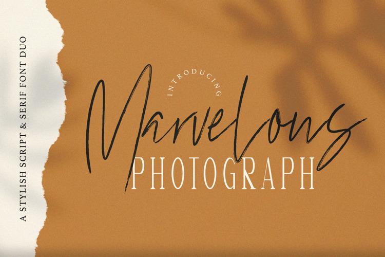 Marvelous Photograph Serif Font