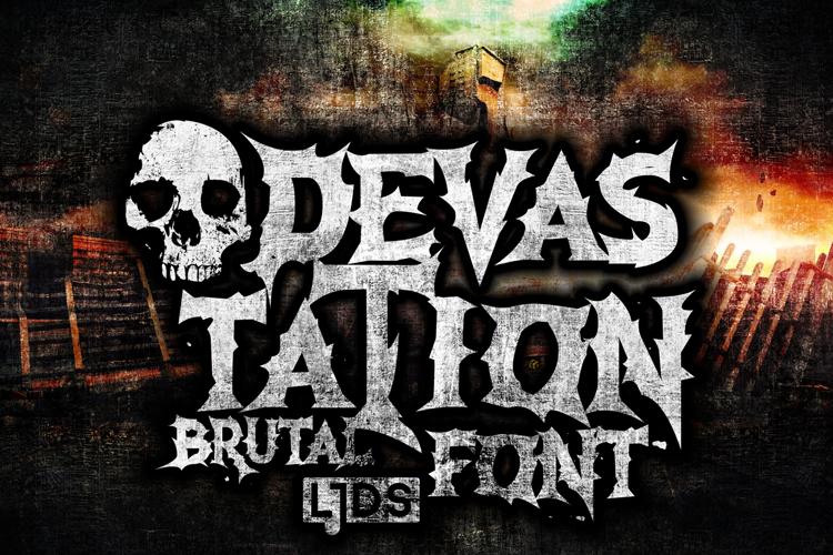 Devastation Font