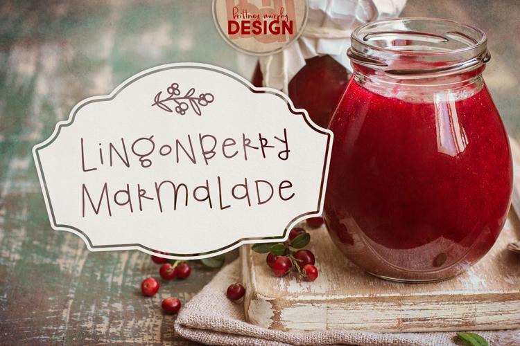 Lingonberry Marmalade Font