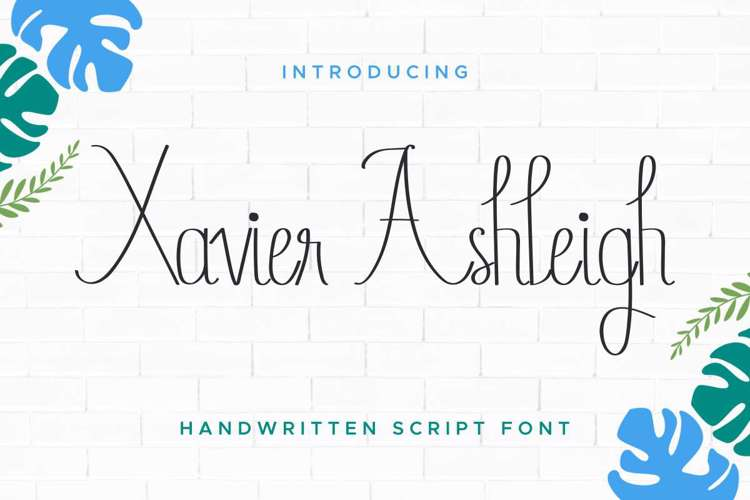 Xavier Ashleigh Font