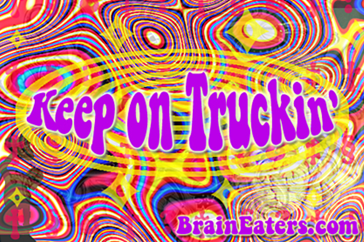 Keep on Truckin' FW Font