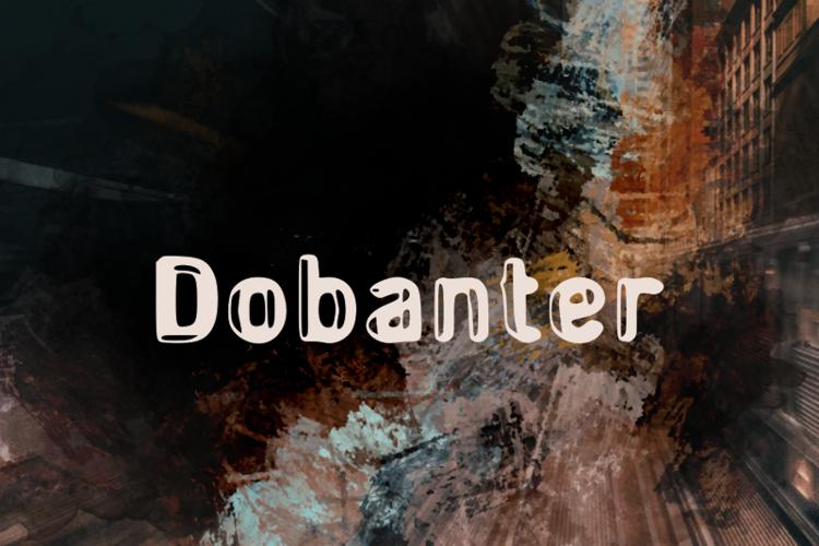 d Dobanter Font