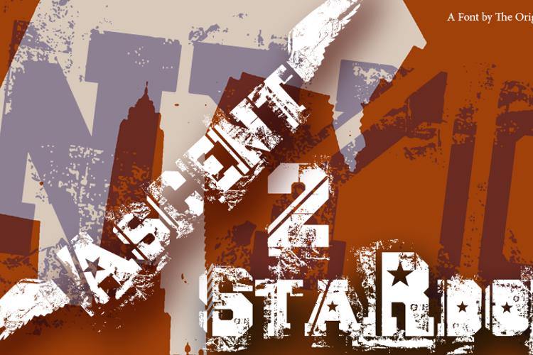 Ascent 2 Stardom Font