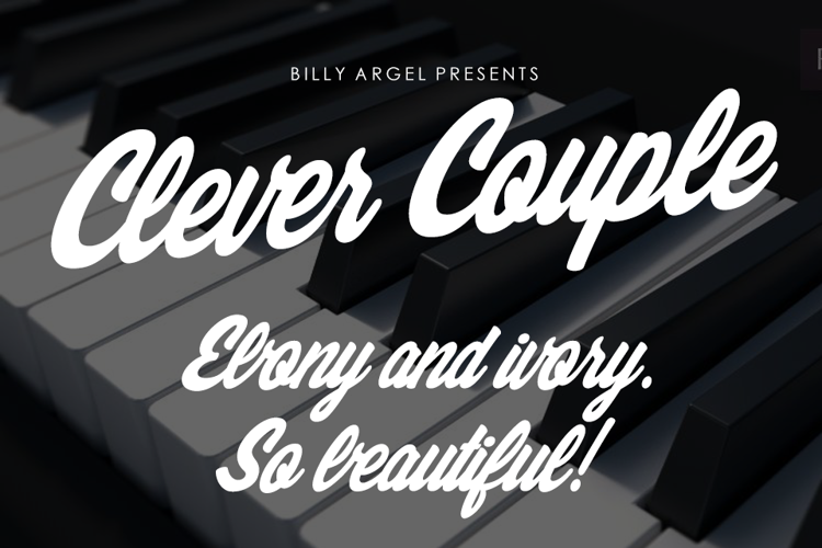Clever Couple Font