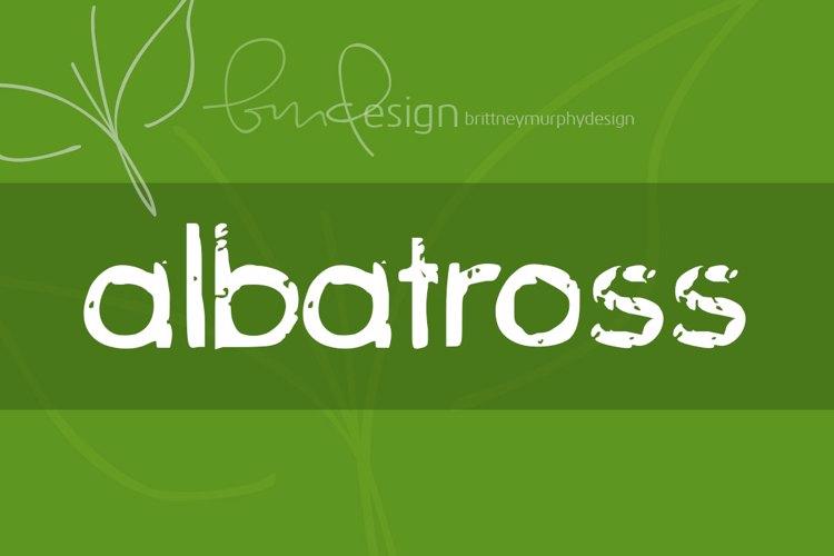albatross Font