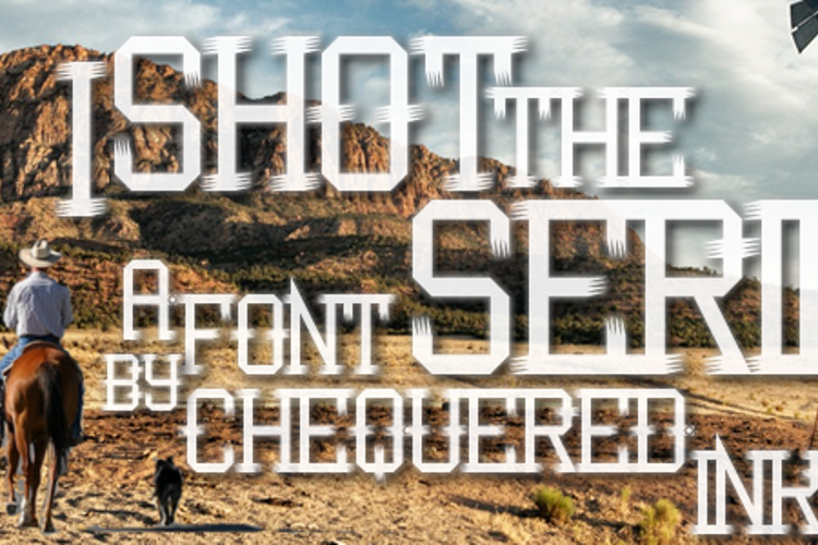 I Shot the Serif Font