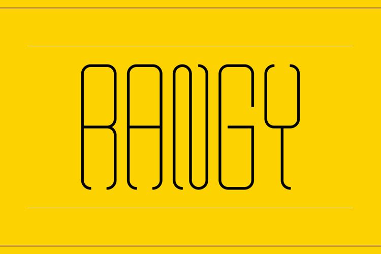 Rangy Font