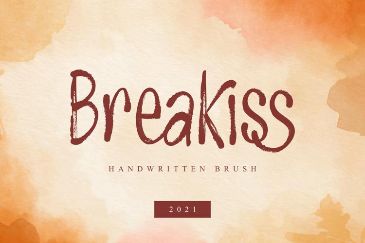 Breakiss Font