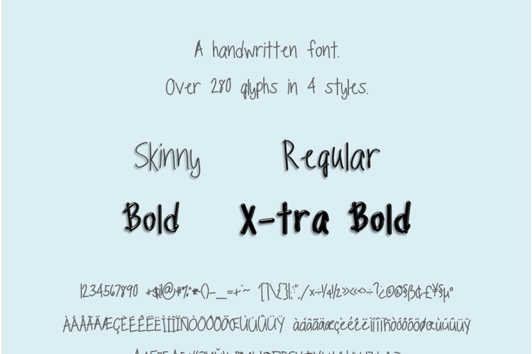 TippyToes Font