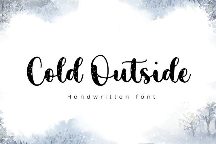 Cold Outside Font