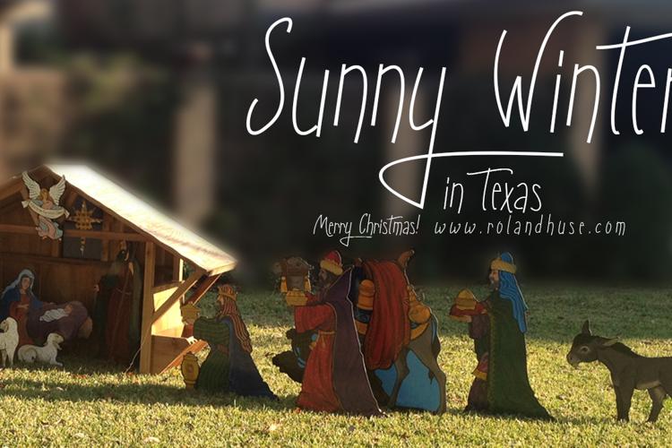 Sunny Winter Font