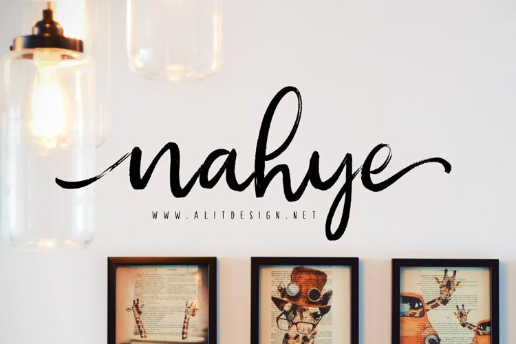 nahye Font