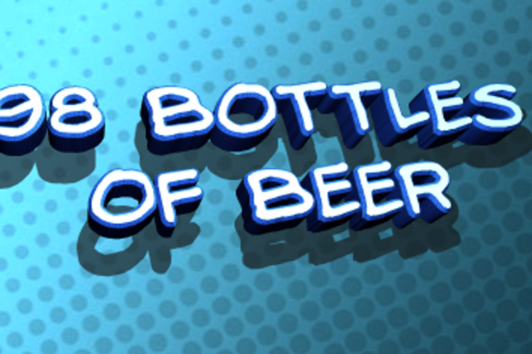 98 Bottles of Beer Font