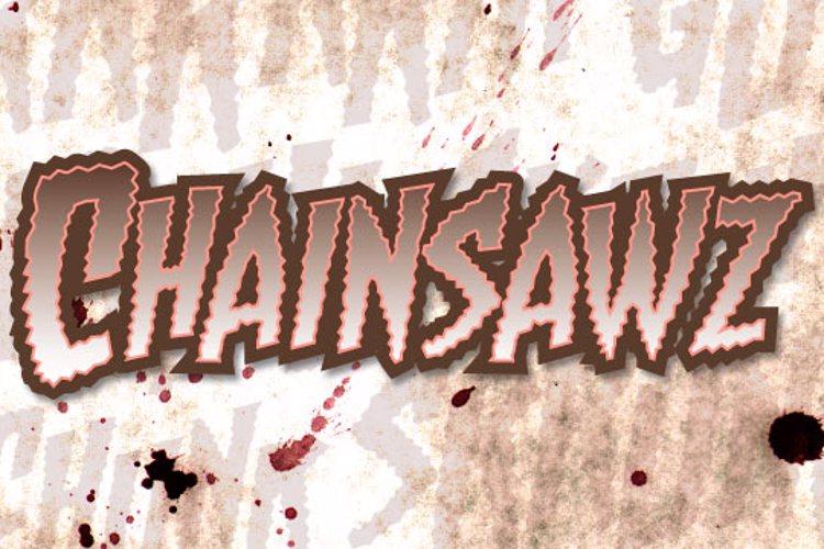 Chainsawz BB Font