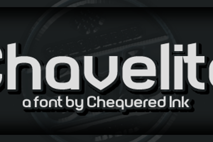 Chavelite Font
