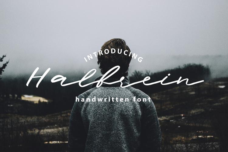 Halbrein Font