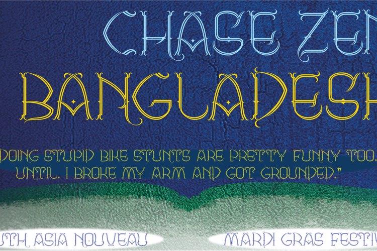 CHASE ZEN BANGLADESH Font