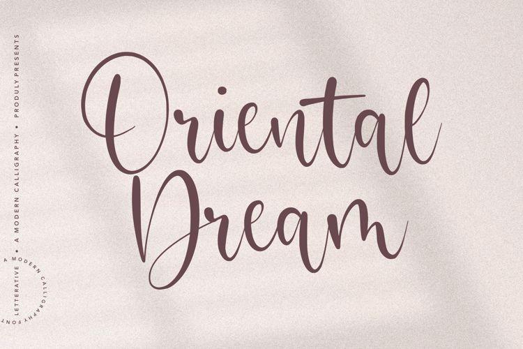 Oriental Dream Font