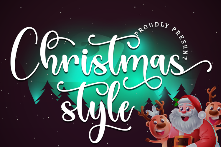 Christmas Style Font