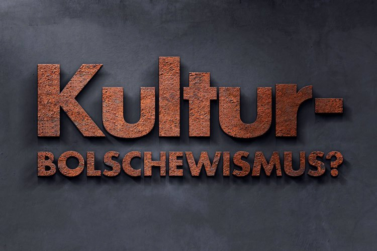 Kulturbolschewismus Font