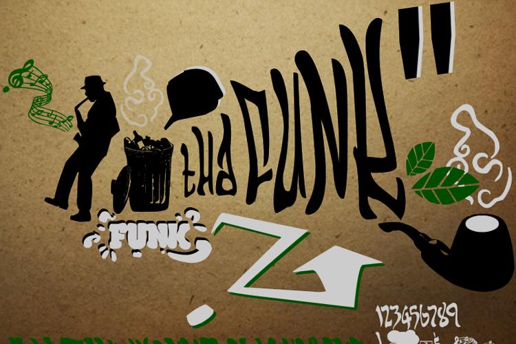 THA FUNK - URBAN HOOK-UPZ Font